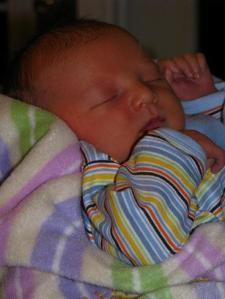 Sleeping baby - November 18