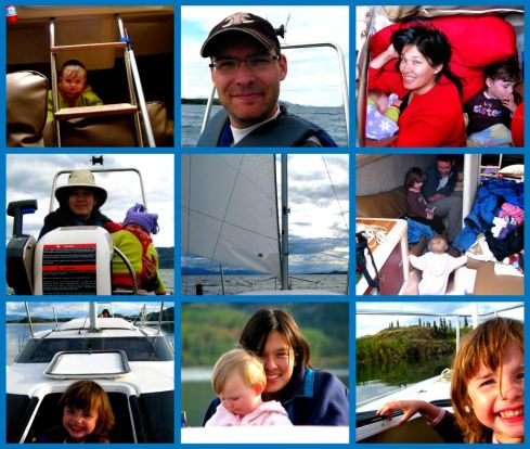 Sailing Collage