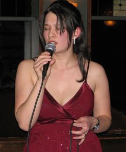 Singing at The Capital, Feb 25th, 2010