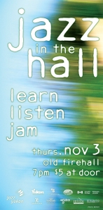 Jazz in the Hall, November 3, 2011