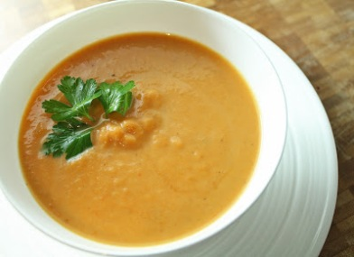 This roasted carrot soup picture looks totally awesome, and I bet it tastes divine, too. If you want to try making the soup pictured here, I stole it from http://beingsuzyhomemaker.blogspot.ca/2011/02/roasted-carrot-soup.html. Click on the pic to go there.